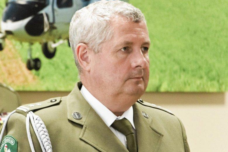 Szef Straży Granicznej Marek Łapiński niedawno otrzymał szlify generalskie od prezydenta Andrzeja Dudy