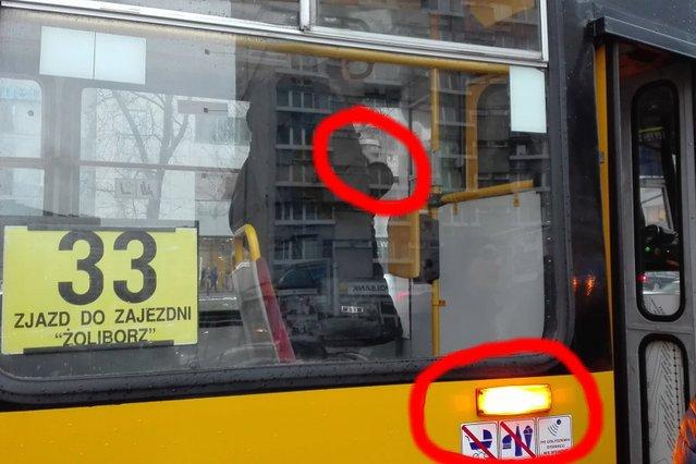 Kuriozalna sytuacja w tramwaju zatrzymała ruch na 12 minut. Dwa radiowozy, dziesiątki osób spóźnionych do pracy