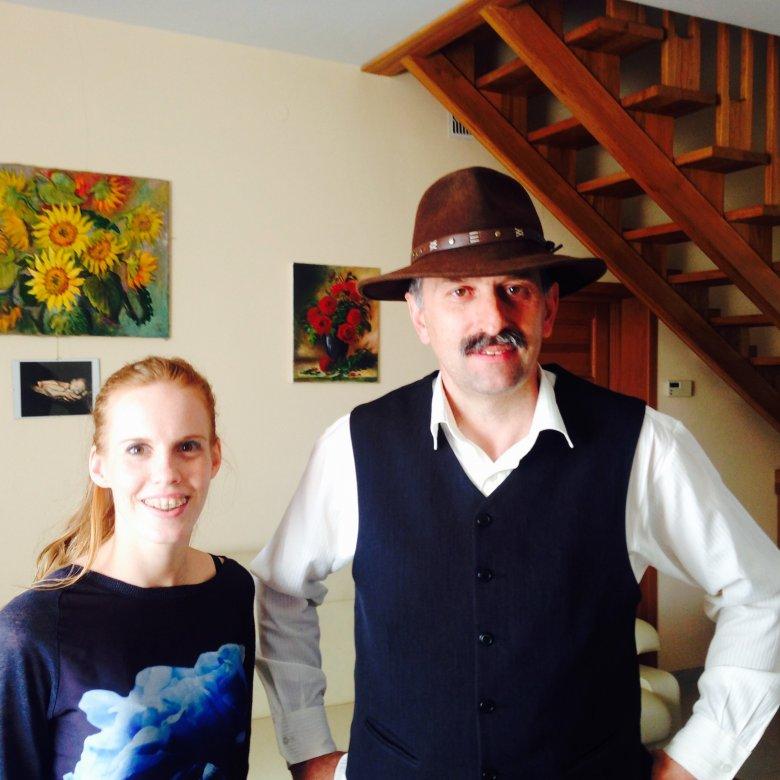 Sławomir Chmiel i Katarzyna Błażejewska
