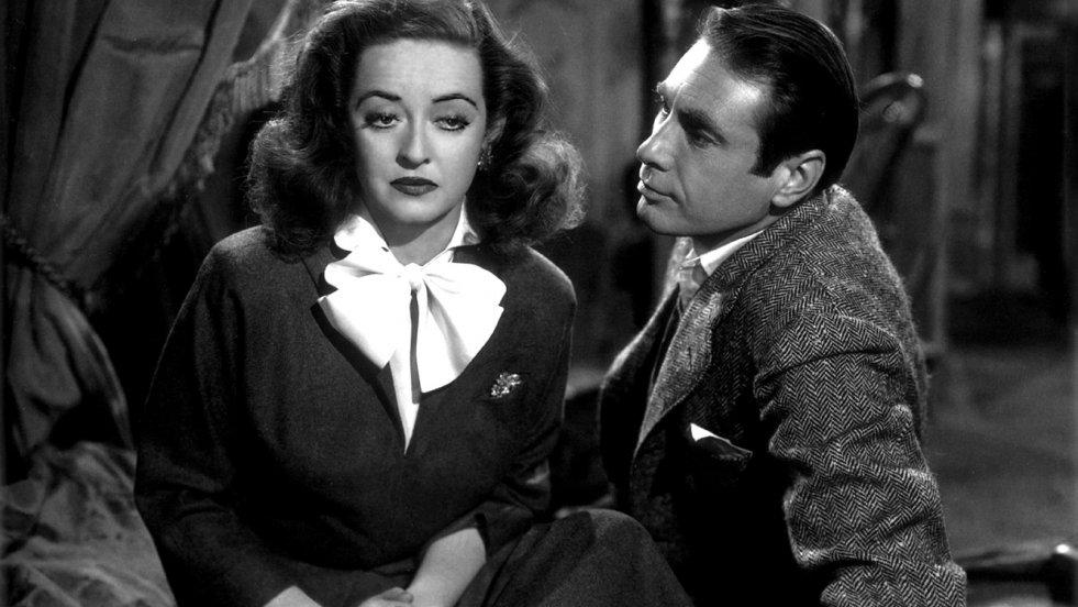 """Bette Davies w filmie """"Wszystko o Ewie"""", laureacie Oscara dla najlepszego filmu z 1950"""