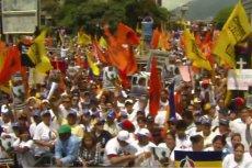 Około 50 tys. ludzi protestowało w Caracas przeciwko polityce władz.