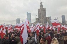 Marsz niepodległości ruszył w Warszawie.