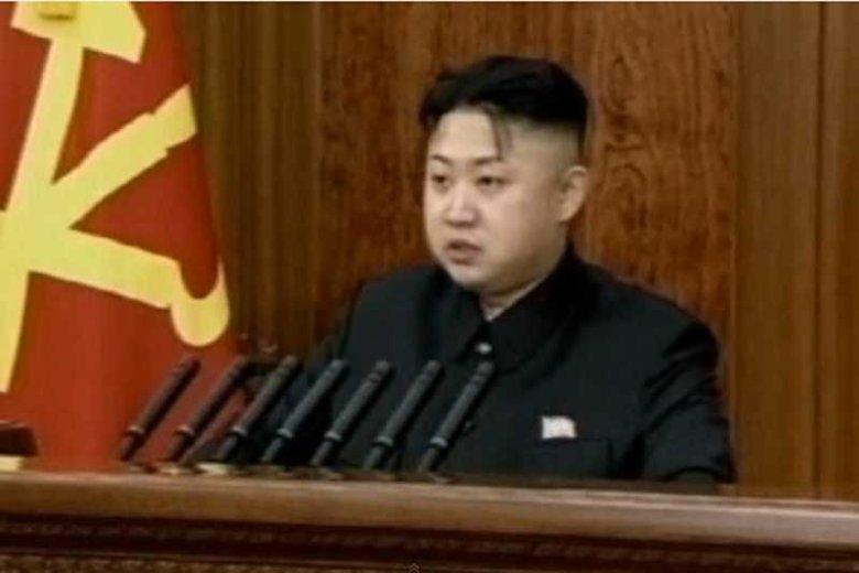 Kim Dzong-Un skierował do narodu noworoczne przemówienie.