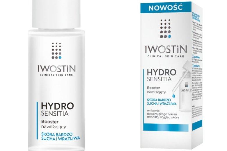 Booster od Iwostinu nie tylko nawilży skórę, ale również pozwoli zmniejszyć widoczność zmarszczek