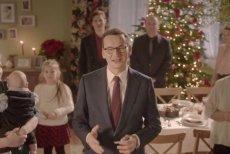 Premier Mateusz Morawiecki wystąpił w świątecznym nagraniu i złożył wszystkim życzenia.