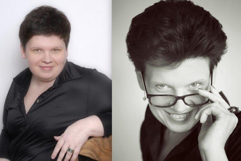 Magdalena Gajda, Rzecznik Praw Osób Chorych na Otyłość. Z lewej przed leczeniem otyłości, z prawej zdjęcie aktualne.