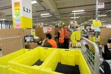 Centrum logistyczne Amazona w niemieckim Graben