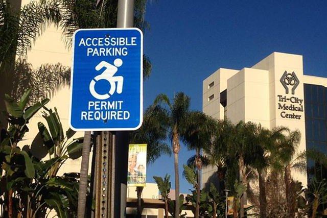 Nowy znak pojawia się także w innych stanach. Na zdjęciu: nowe logo w mieście Oceanside (Kalifornia)