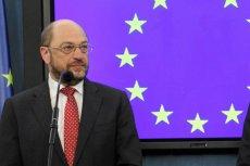 Szef Parlamentu Europejskiego, Martin Schultz.