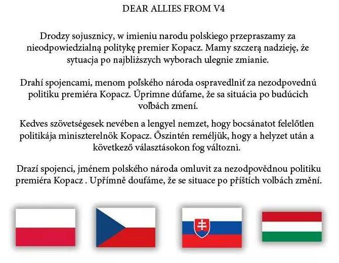 E-przeprosiny skierowane głównie do premiera Węgier