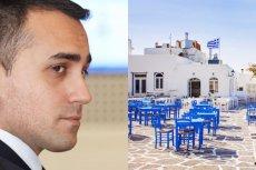 Szef włoskiej dyplomacji Luigi Di Maio narzeka na czarną listę sąsiadów jego kraju.