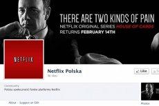 Na razie Netflix tylko na Facebooku jest obecny w Polsce, i to pod postacią Fanpage'a