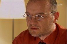 """Redbad Klynstra-Komarnicki wcielał się w """"Na dobre i na złe"""" w postać doktora Ruuda van der Graafa"""
