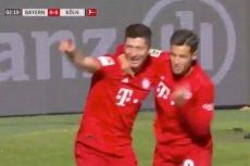 Robert Lewandowski strzelił dwa gole w meczu Bayernu z FC Koeln. Ale wykazał się też gestem wobec Coutinho. Oddał mu strzelanie rzutu karnego.
