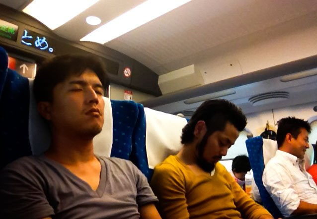 Powrót do Tokio :)