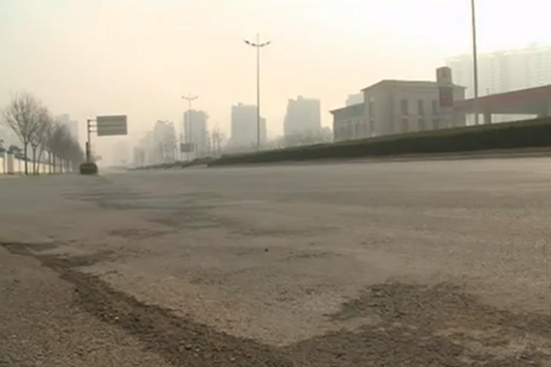 Chińskie miasta-widma świecą pustkami.