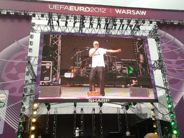 Największy event jaki miałem okazję poprowadzić. Fanzone Warsaw UEFA EURO 2012. W sumie półtora miliona ludzi połączonych świetną zabawą i sportowymi emocjami.