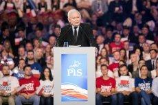 Jarosław Kaczyński podczas konwencji w Łodzi mówił, czym się różni kobieta od mężczyzny.