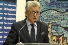 Stanisław Piotrowicz przemawiał w sobotę w Bolesławcu i Zgorzelcu.