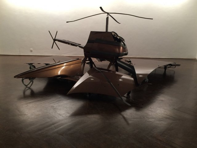 """SAND OF DESERT. VOVO V70 CROSS COUNTRY Transformed Into 6 Drones"", 2015"