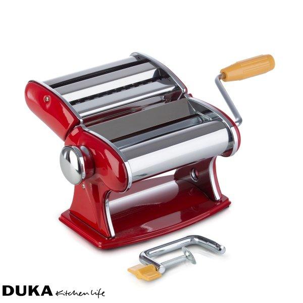 Maszynka do robienia makaronu marki Duka.