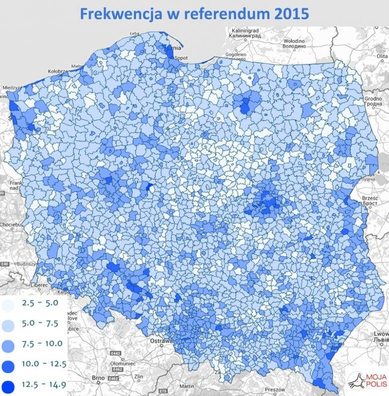 frekwencja w referendum