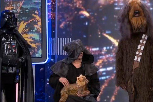 Poznajcie nowego Imperatora, Lorda Vadera i Chewbaccę.