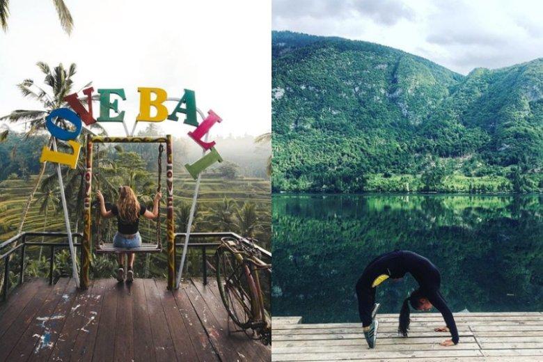 Podróże, jedzenie, ćwiczenia - millenialsi chcą robić to w fotogenicznych miejscach