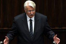 Witold Waszczykowski opowiadał w Sejmie o sprawach, które nijak mają się do rzeczywistości...