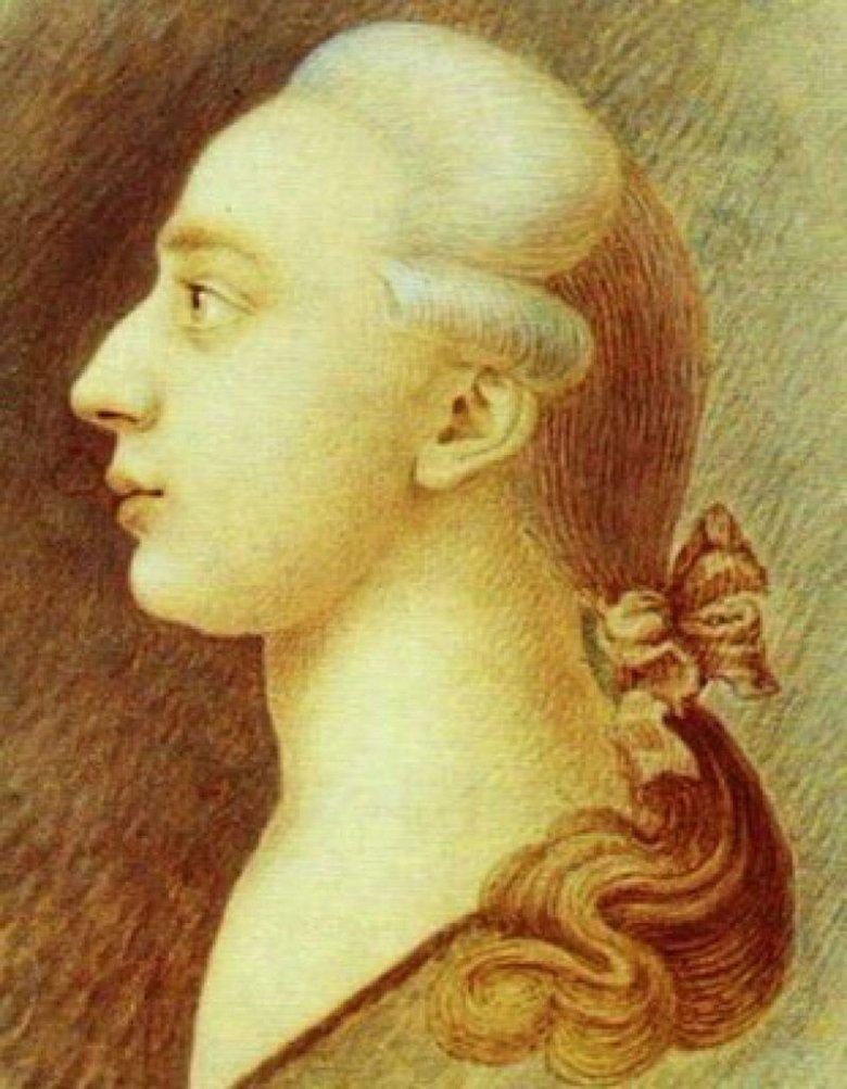 Portret Giacomo Casanovy, 1750-1755