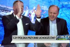 Dyskusja Przemysława Wiplera i ks. Kazimierza Sowy przerodziła się w kłótnię.