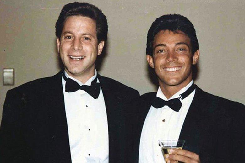 Danny Porush (z lewej) i Jordan Belfort, czyli dawni wspólnicy w interesach