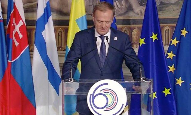 Przewodniczący Donald Tusk