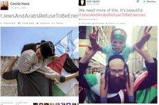 Żydzi i Arabowie odmawiają bycia wrogami, czyli jak Żydzi i Palestyńczycy protestują przeciw wojnie pod tagiem #JewsAndArabsRefuseToBeEnemies