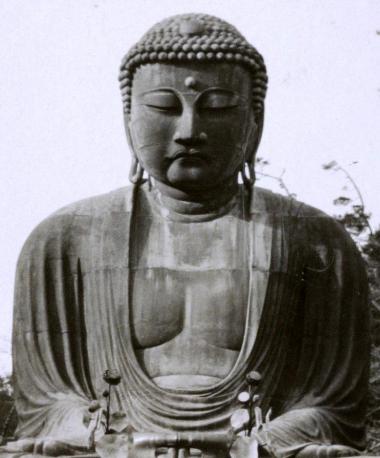Kamakura Daibutsu, czyli posąg Wielkiego Buddy w mieście Kamakura w Japonii