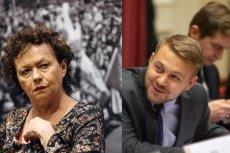 Jacek Ozdoba ogłosił koniec komunizmu w Sądzie Najwyższym. Ostro odpowiedziała mu Joanna Szczepkowska.