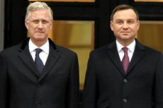 """Z ustaleń dziennika """"Le Soir"""" wynika, że królowi Belgów Filipowi I Koburg zaserwowano w Warszawie wino za 12 euro"""