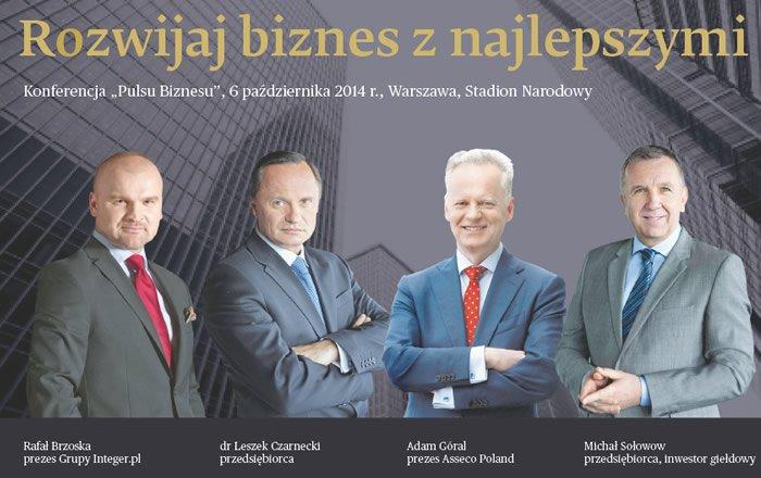 Rafał Brzoska, Leszek Czarnecki, Adam Góral, Michał Sołołow