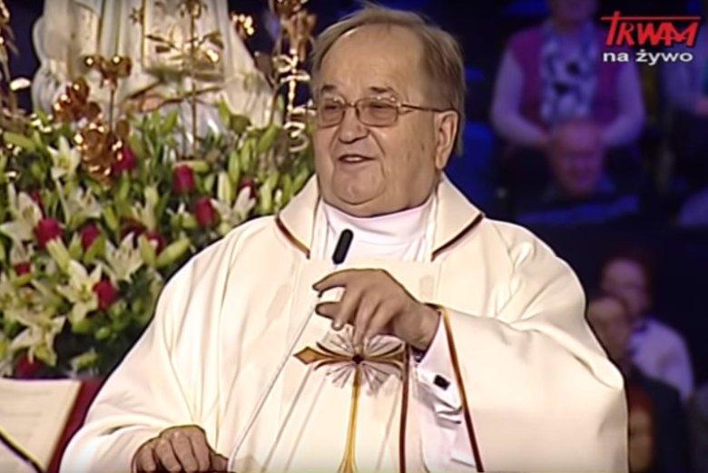 O. Tadeusz Rydzyk na 27. urodzinach Radia Maryja.