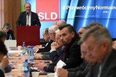 Szef SLD Włodzimierz Czarzasty podczas Rady Krajowej Sojuszu