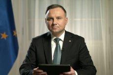 Andrzej Duda uważa, że nie zwalczymy koronawirusa przed Wielkanocą.