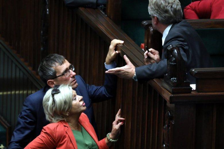 Debata w Sejmie była burzliwa.