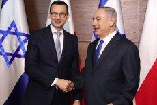 Konferencja bliskowschodnia. Mateusz Morawiecki spotkał się z Benjaminem Netanjahu.