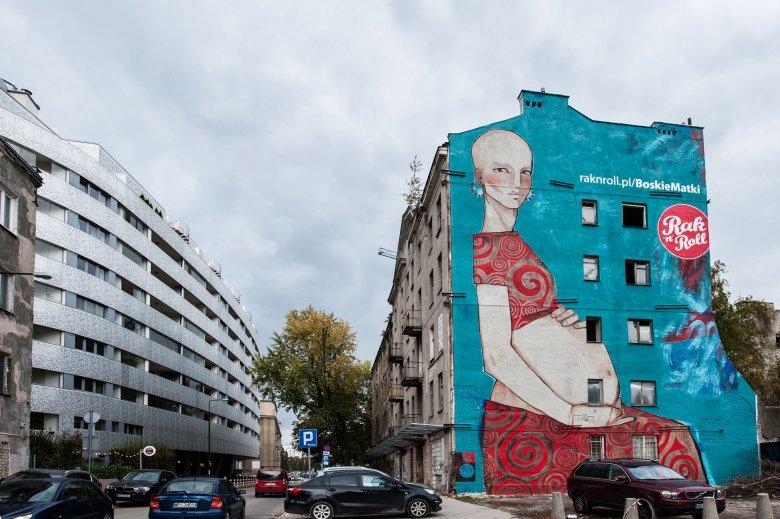 Boska Matka na warszawskiej Woli