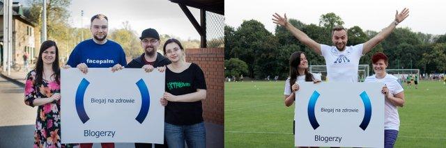Drużyna blogerów: Maja Sieńkowska (z lewej) i Paweł Lipiec znaleźli motywację, aby wytrwać w programie od początku do końca. Iwona Stepajtis (z prawej) do treningów wróciła po urodzeniu dziecka - czeka ją półmaraton