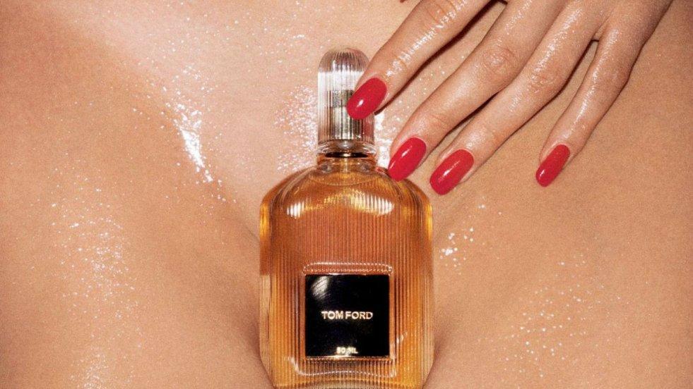 Kampania perfum Toma Forda / materiały promocyjne