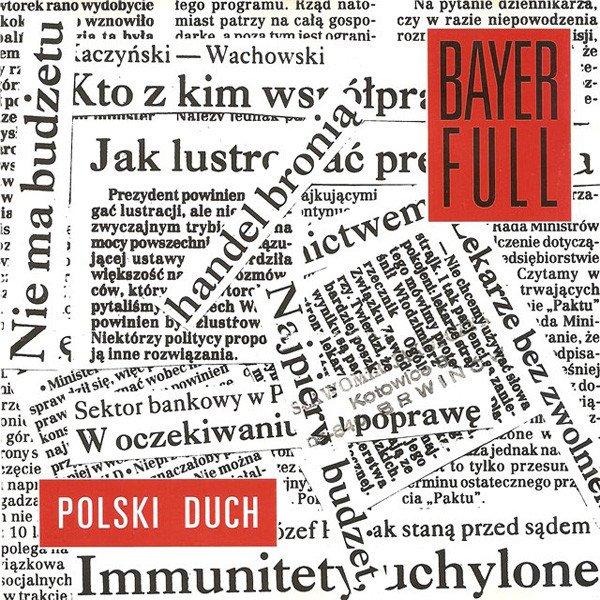 """Okładka płyty Bayer Full - """"Polski duch"""""""