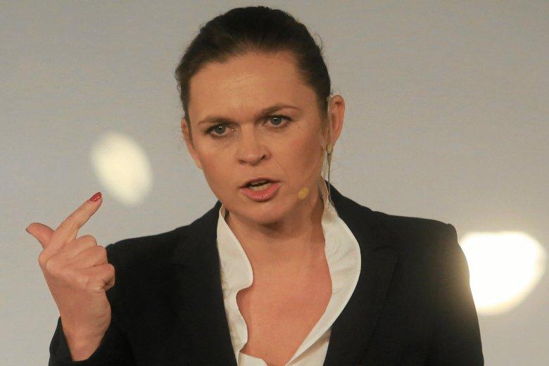Barbara Nowacka skrytykowała kandydata PiS w wyborach samorządowych Patryka Jakiego.