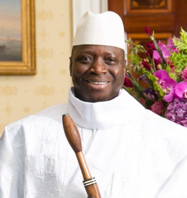Prezydent Jahya Jammeh