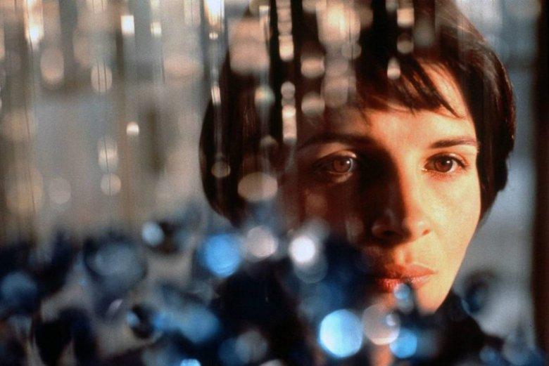 """Juliette Binoche jako Julie Vignon - de Courcy w filmie """"Trzy kolory: Niebieski"""""""